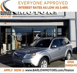 2012 Subaru Forester 2.5X LEATHER/ECONOMICAL**SPRING BLOWOUT**