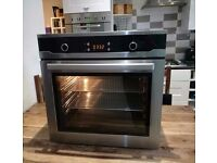 60 cm Built in ceramic hob and oven and hood