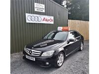 2009 FACELIFT MODEL MERCEDES BENZ C220 2.1 CDI SPORT, LOW TAX, 12 MONTHS MOT, ONE OWNER FROM NEW