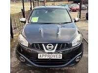 NISSAN QASHQAI 1.6 ACENTA 5d 117 BHP Apply for finance Online today! (black) 2011
