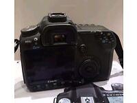 Canon 50D(Shoots video!) dslr + 58mm 1.8 lens + 4GB cf card