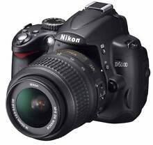 Nikon D5000 DSLR camera body only Perth Northern Midlands Preview