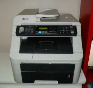 Brother Printer MFC-9125 CN Laser color printer all in one. Fax, copier, printer For $299.99