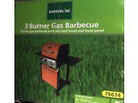 Brand new in box - 3 Burner Gas Barbecue