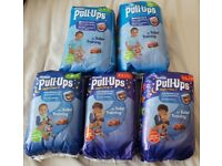 Huggies Pull Ups Boys sizes M and L