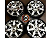 """19"""" Bentley alloys 5x112, excellent condition, excellent matching tyres."""