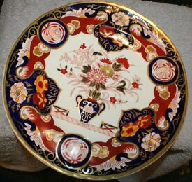 Mason's ironstone dinner plate, Imperial style, brilliant condition. P & P included