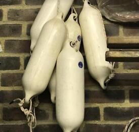 Boat Fenders x 6 Approx 40cm long
