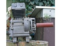 Small air compressor head.