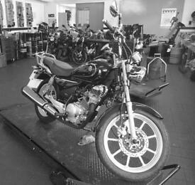 Custom Yamaha YBR
