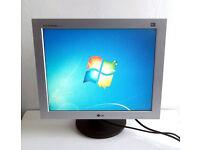 19 Inch Monitor - (LG / L1930B) (Gaming PC, VGA, DVI, Nvidia, Radeon, Desktop PC, Apple, LCD, TFT)