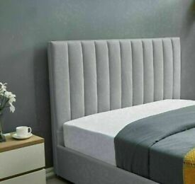 🔵💖🔴more at less price🔵💖🔴PLUSH VELVET DOUBLE SIZE LUCY STORAGE BED FRAME OPT MATTRESS