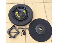 Ford Focus Spare Wheel and Jack kit 2010-2018