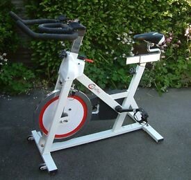 Crystal Tec exercise bike. Good make, very heavy, lost its recording system. Photos. Ripon N Yorks