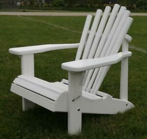 Canadian baseball bat chairs