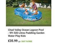 Swimming paddling pool