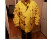 Yellow ferrari jacket