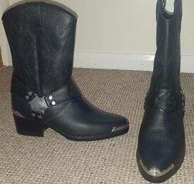 Genuine Harley Davidson boots UK Size 8.5