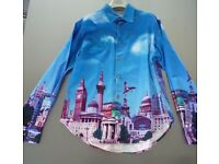 London skyline 100% cotton Printed Men's Shirt very Opening Ceremony - Unique