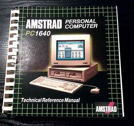 Amstrad PC1640 Technical Reference Manual