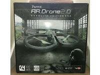 Parrot ar elite 2.0 drone.boxed.Only used 4-5 times.Extra 2400mAh battery.Records videos/photos HD.
