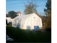 Gala Tent 8m x 4m PVC high quality Marquee