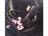 Jane Koos infant / toddler car seat (group 0+) and Isofix Platform base - GREAT DEAL!