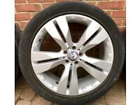 "Mercedes Genuine Alloys 20"" not AMG alloy wheels"