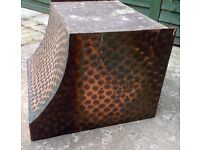 VINTAGE COPPER CANOPY - COOKERHOOD/ FIREPLACE -hand designed and made