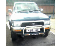 Toyota 2.8 TD Automatic HiLux for REPAIRS (needs exhaust + 1 tyre)
