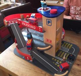 ELC Wooden Toy Garage