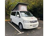 VW T5 CamperVan with Low Mileage & Full Service History