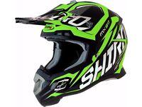 NEW Shiro MX917 Motocross Racing Helmet CARBON FIBER CROSS ANY SIZE