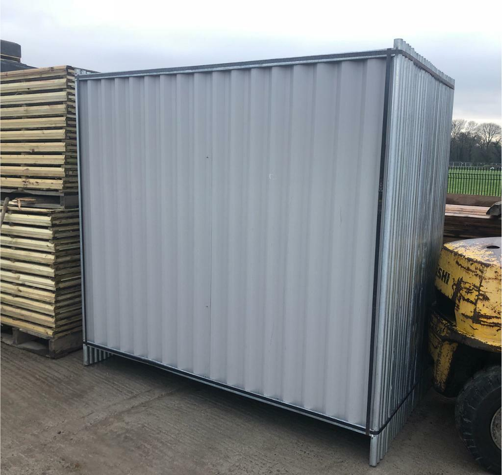 SOLID HOARDINGS SETS (PANEL/ FOOT/ CLIP) > NEW > TEMPORARY SITE SECURITY FENCING