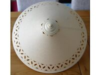 Ceiling pendant uplighter lamp shade