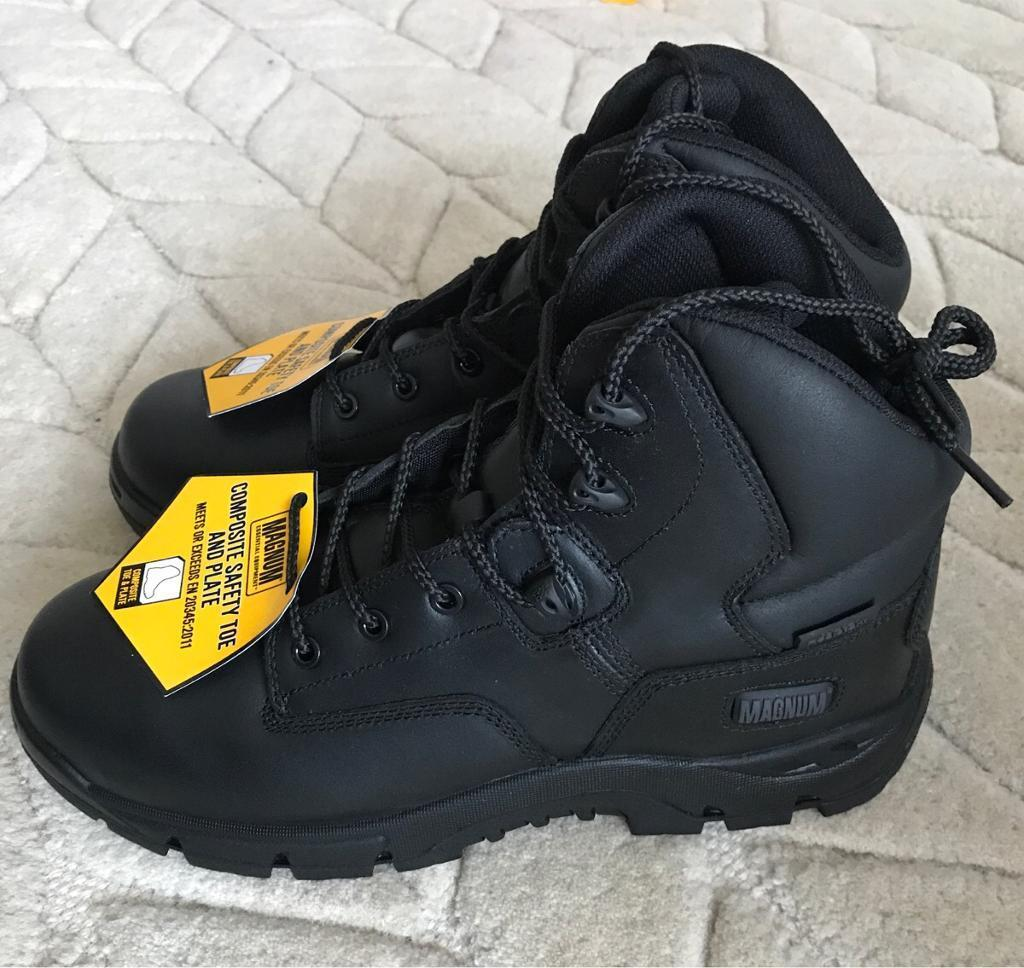 Magnum Safety BootsBrand New Size 10in Sheffield, South YorkshireGumtree - Magnum Precision Sitemaster S3 Safety Boots Black Size 10. No faults. just unwanted. Brand new never worn fully boxed. Collect or possible delivery