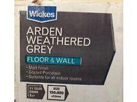 2 packs grey floor/wall tiles