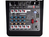 Allen and Heath Zed i8 Mixer and USB Interface