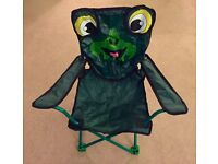 Children's Hi Gear Animal Camping Chair (Frog)