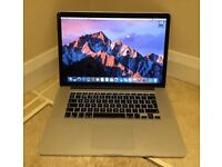 Apple MacBook Pro Retina, 15-inch, Mid-2014, 2.5GHz Intel Core i7, 512GB, 16GB, IMMACULATE!
