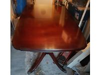 Mahogany Dining Table Seat 6/8 People (NO CHAIRS)