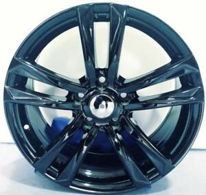 *** MAGS / JANTES EN ALLIAGE TAKE OFF 17 5 X 114.3 HUB 67.1  GLOSS BLACK ***