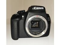 Canon EOS 1200D Digital Camera. Stunning camera ideal for beginners. Comes with accessories.