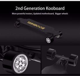 koowheel D3M 2nd Gen Electric Longboard/Skateboard Dual Brushless Motors - LG Battery - XMAS Gift