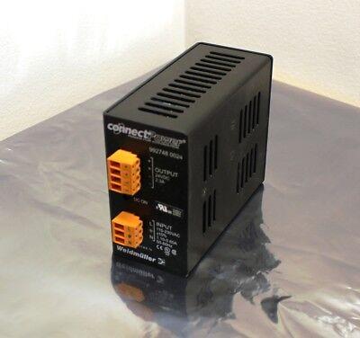 Weidmuller 9927480024 Power Supply Din Rail 24v 2.3a