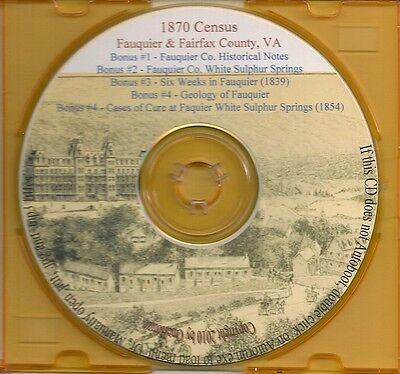 Fauquier County VA History - Virginia Genealogy