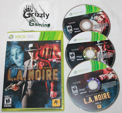 USED L.A. Noire Xbox 360 (NTSC) -Canadian Seller- for sale  Fort Frances