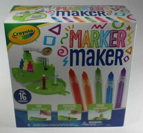 Crayola Marker Maker Kit Make Your Own Markers Create Custom Colors 16 markers