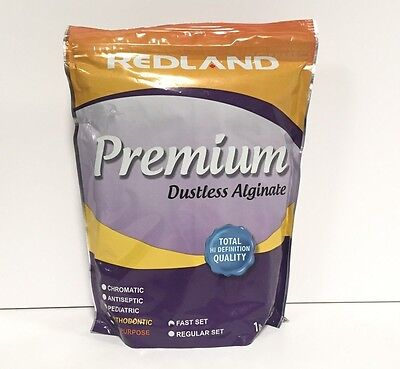 Redland Premium Dustless Dental Alginate 1lb X 20 Bags Fda Approved
