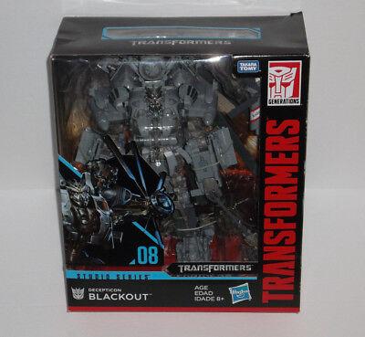 NEW Transformers Studio Series 08 Leader Class Decepticon BLACKOUT Figure